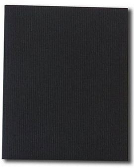 Kunst & Papier Jumbo Soft Cover 6.3x7.9 Black