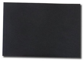 Kunst & Papier Jumbo Soft Cover 8.3x5.8 Black - Landscape