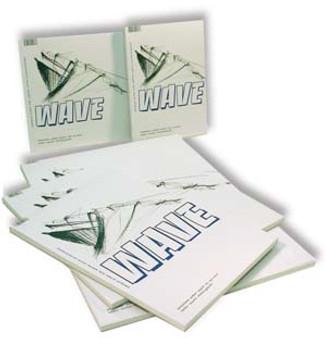Kunst & Papier Wave Pad 8x5