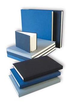 Kunst & Papier Watercolor Book 6.9x9.4 Blue