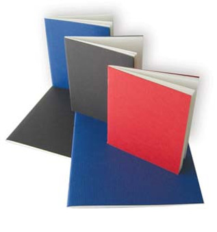 Kunst & Papier Soft Cover Sketchbook 8x9 Blue