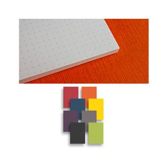 "Fabriano EcoQua Glue-bound Dot Paper 5.8""x 8.25"" Raspberry"