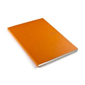 "Fabriano EcoQua Glue-bound Dot Paper 8.2""x11.7"" Orange"