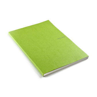 """Fabriano EcoQua Glue-bound Dot Paper 8.2""""x11.7"""" Lime"""