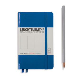 Leuchtturm 1917 Hardbound Dotted Notebook Pocket Size Royal Blue