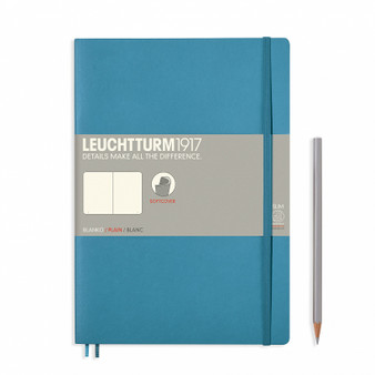 Leuchtturm 1917 Soft Cover Blank Notebook Composition Nordic Blue