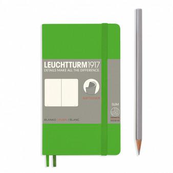 Leuchtturm 1917 Soft Cover Blank Notebook A6 Pocket Fresh Green