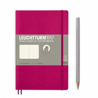 Leuchtturm 1917 Soft Cover Notebook B6 Dotted Berry