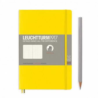 Leuchtturm 1917 Soft Cover Notebook B6 Dotted Lemon