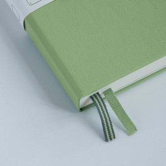 Leuchtturm 1917 Muted Color Medium Hardcover Ruled Notebook Sage