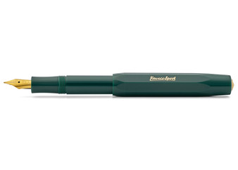 Kaweco Classic Sport Fountain Pen Green Extra Fine Nib