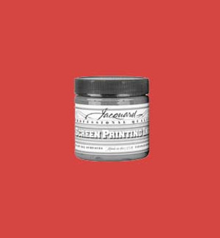 Jacquard Screen Printing Ink Acrylic 4oz Bright Red