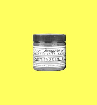 Jacquard Screen Printing Ink Acrylic 4oz Opaque Yellow