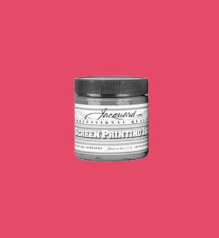 Jacquard Screen Printing Ink Acrylic 4oz Opaque Red