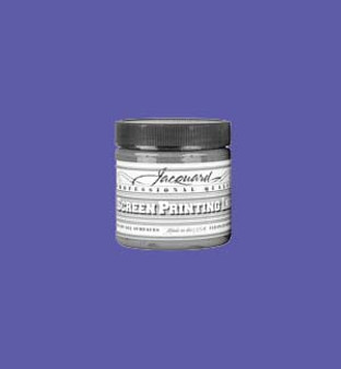 Jacquard Screen Printing Ink Acrylic 4oz Opaque Violet