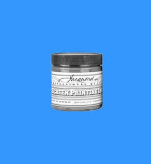 Jacquard Screen Printing Ink Acrylic 4oz Opaque Blue