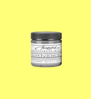 Jacquard Screen Printing Ink Acrylic 4oz Process Yellow