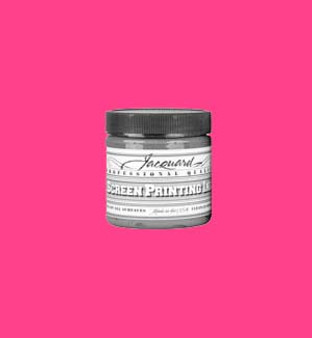 Jacquard Screen Printing Ink Acrylic 4oz Process Magenta