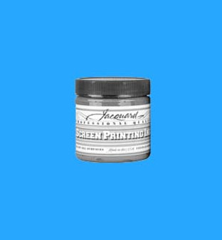 Jacquard Screen Printing Ink Acrylic 4oz Process Cyan