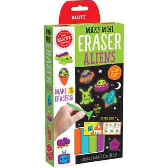 Klutz Make Mini Eraser Kit Aliens