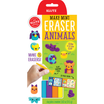 Klutz Make Mini Eraser Kit Animals