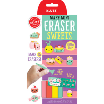 Klutz Make Mini Eraser Kit Sweets