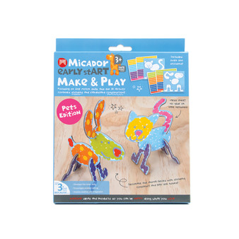 Micador early stART Make & Play 2-Piece Set Pets