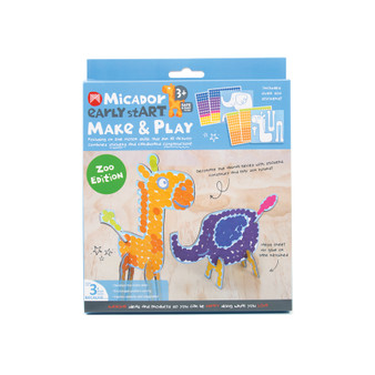 Micador early stART Make & Play 2-Piece Set Zoo
