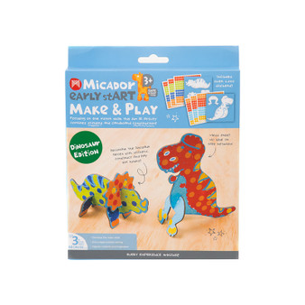 Micador early stART Make & Play 2-Piece Set Dino