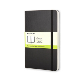 Moleskine Classic Notebook Large Plain