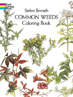 Dover Common Weeds Coloring Book