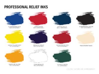 Speedball Professional Relief Ink 8oz Crimson
