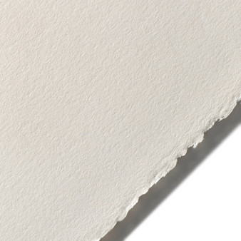 "Stonehenge Cotton Paper 250gsm 22x30"" Sheet Pearl Grey"