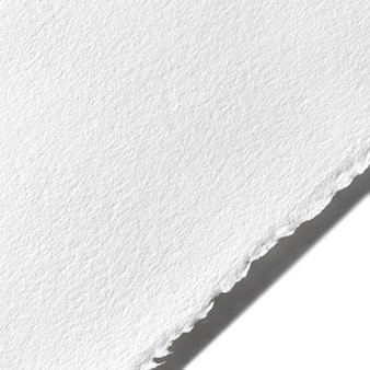 "Stonehenge Cotton Paper 250gsm 22x30"" Sheet Polar White"