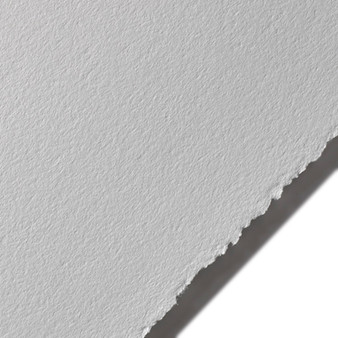 "Stonehenge Cotton Paper 250gsm 22x30"" Sheet Steel Grey"