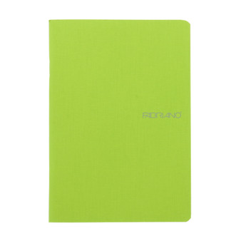 "Fabriano EcoQua Staple-bound Blank Paper 5.8""x8.2"" Lime"