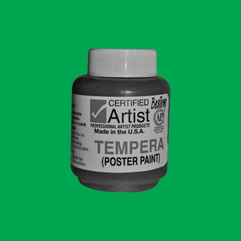Bestemp Tempera Paint 2oz Green
