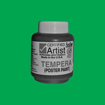 Bestemp Tempera Paint 2oz Green