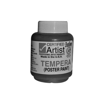 Bestemp Tempera Paint 2oz White