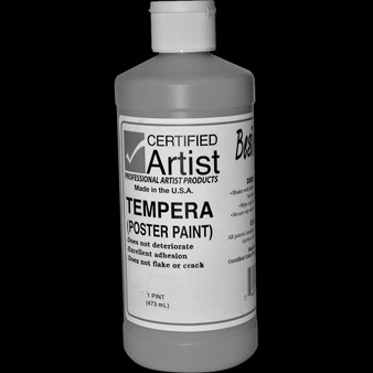 Bestemp Tempera Paint 16oz Black
