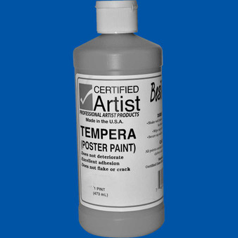 Bestemp Tempera Paint 16oz Blue