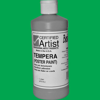 Bestemp Tempera Paint 16oz Green