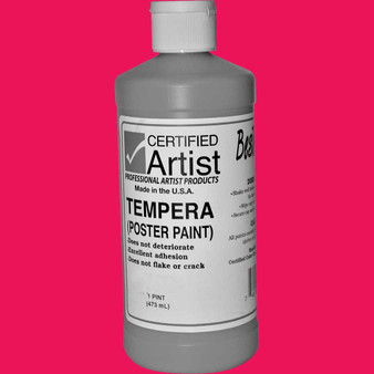 Bestemp Tempera Paint 16oz Magenta