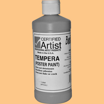 Bestemp Tempera Paint 16oz Peach