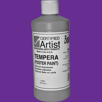 Bestemp Tempera Paint 16oz Violet