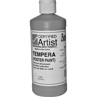 Bestemp Tempera Paint 16oz White