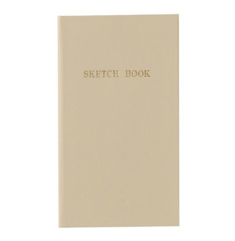Kokuyo Trystrams Field Note Sketch Book Beige