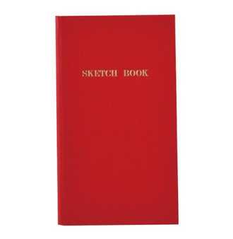 Kokuyo Trystrams Field Note Sketch Book Red