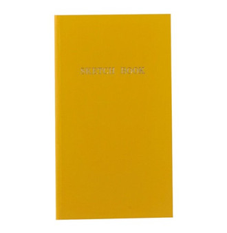 Kokuyo Trystrams Field Note Sketch Book Yellow