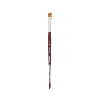 Princeton Brush Velvetouch Mixed Media 3950 series Angle Shader size 3/8